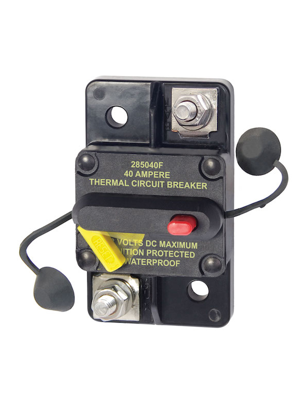 Blue Sea Circuit Breaker Bus 285 Surface 40 A Solid Kit