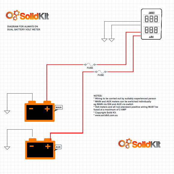 dual battery diagram wiring diagram