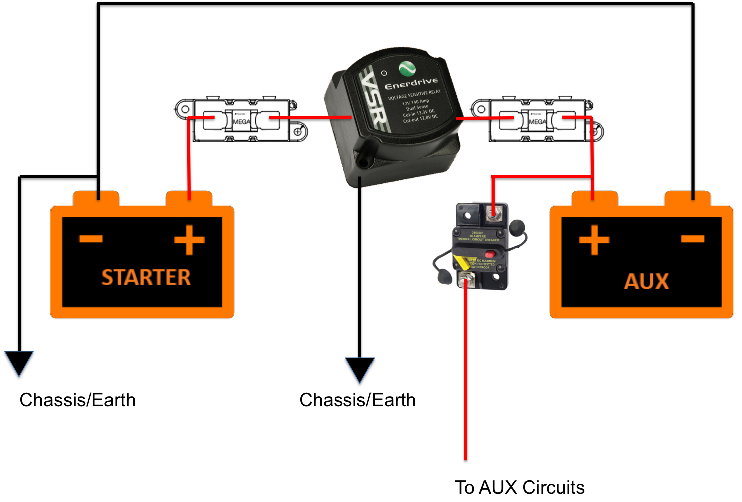 Dual Battery Wiring Diagram 4x4