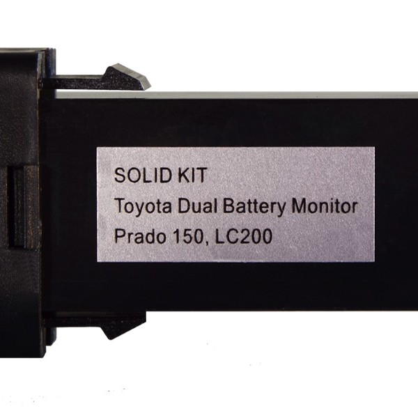 Left Side Toyota Dual Battery Monitor Prado 150 200 800600