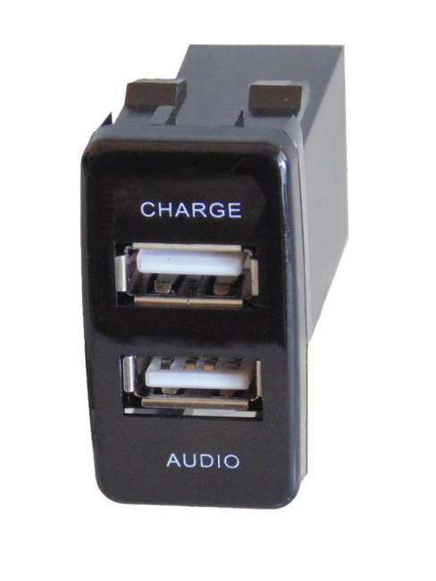 Toyota Audio USB Charger Prado 120 no cable800_600